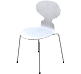 Arne Jacobsen Ameise Stuhl fritz hansen die ameise 3101 arne jacobsen 1952 designermöbel