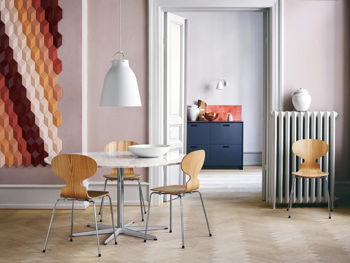 Stuhl Ameise Jacobsen stuhl ameise jacobsen best modell stuhl wei lackiert fritz hansen