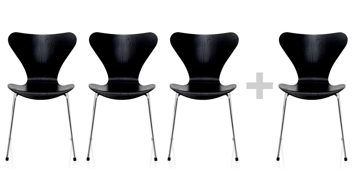 fritz hansen series 7 chair 3107 by arne jacobsen 1955 designer