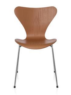 Serie 7 Stuhl 3107 46 cm Gefärbte Esche Chevalier orange