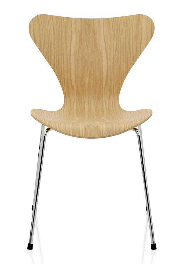 Fritz Hansen Serie 7 Stuhl 3107 465 Cm Holz Klar Lackiert Eiche