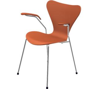 Serie 7 Armlehnstuhl 3207 46 cm|Lack|Chevalier orange