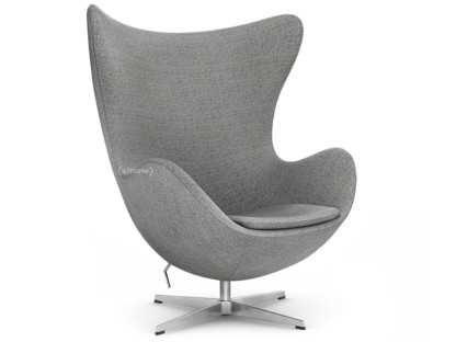 Fritz Hansen Egg Chair Hallingdal 65 130 Grey Ohne Fußhocker