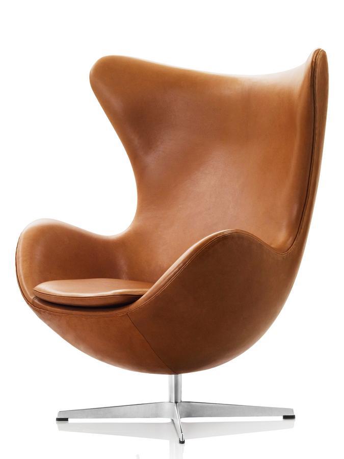 fritz hansen egg chair von arne jacobsen, 1958 - designermöbel von, Hause deko