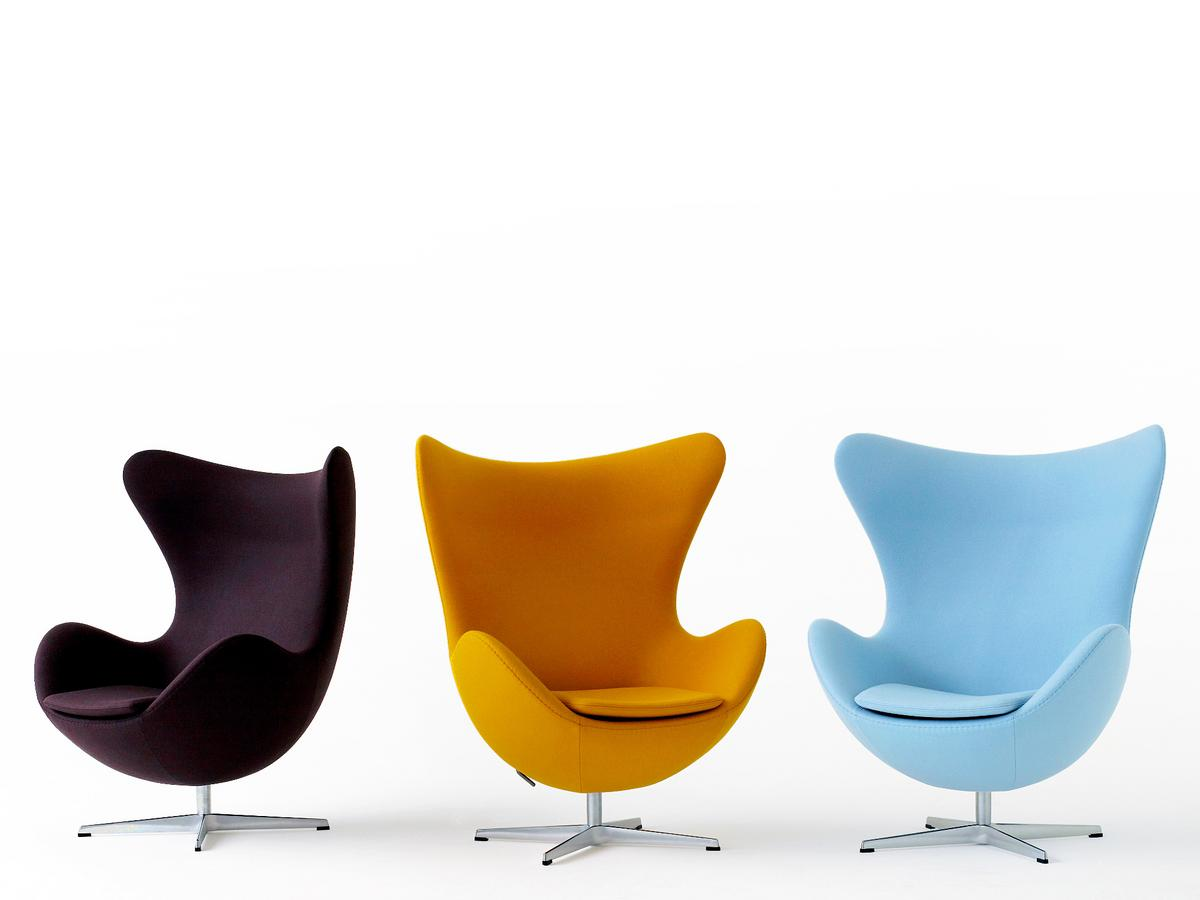 Arne jacobsen furniture - Fritz Hansen Egg Chair Von Arne Jacobsen 1958