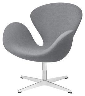 Swan Chair Sonderhöhe 48 cm Christianshavn Christianshavn 1171 - Hellgrau