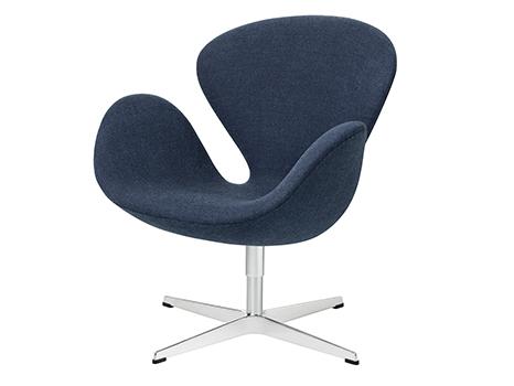 Fritz Hansen Swan Chair Von Arne Jacobsen 1958 Designermöbel Von