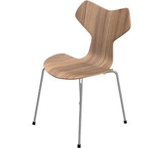 Grand Prix 3130 46 cm|Holz klar lackiert|Eiche natur