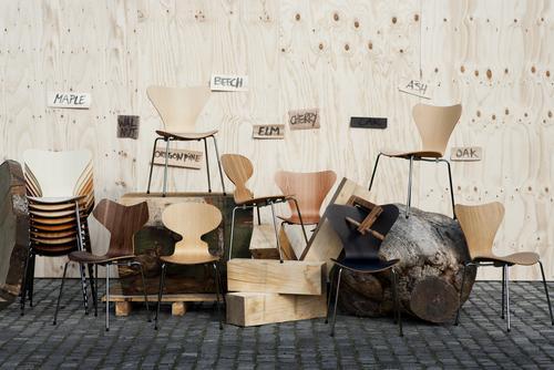 fritz hansen grand prix 3130 von arne jacobsen 1957 designerm bel von. Black Bedroom Furniture Sets. Home Design Ideas