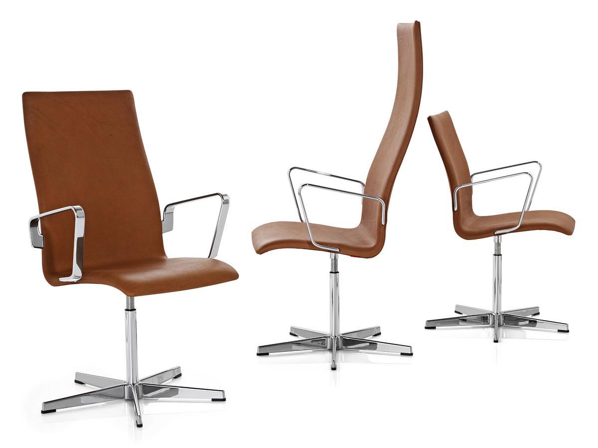 Bürostuhl designklassiker  Fritz Hansen Oxford von Arne Jacobsen, 1965 - Designermöbel von ...