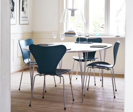 fritz hansen piet hein table by piet hein bruno mathsson. Black Bedroom Furniture Sets. Home Design Ideas