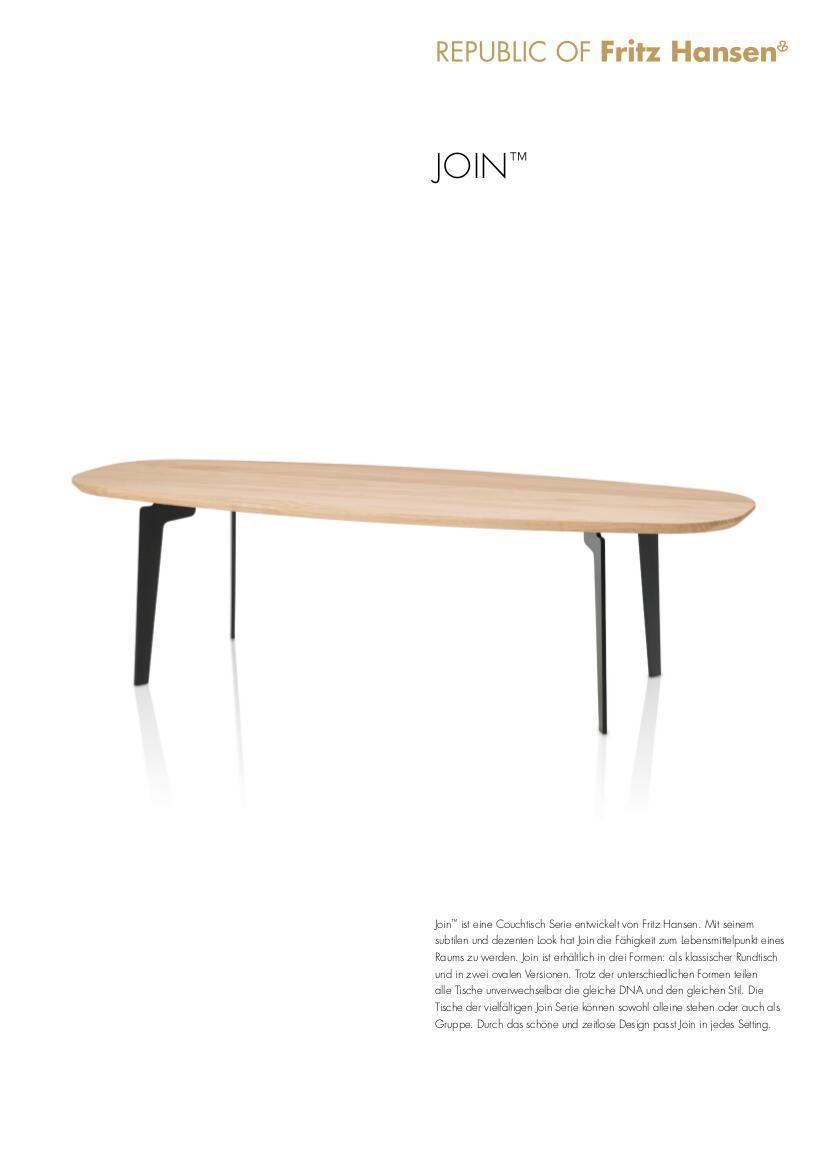 ... Join Couchtisch von Fritz Hansen, 2014 - Designermu00f6bel von smow.de