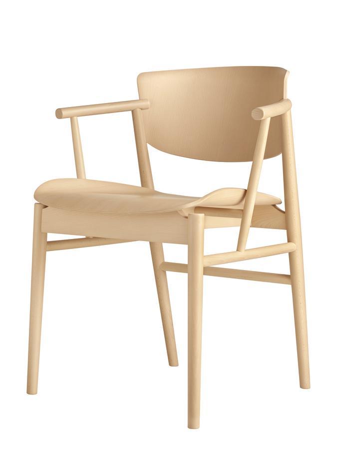 Fritz Hansen N01 Stuhl von Nendo - Designermöbel von smow.de