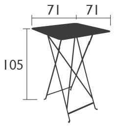 Berühmt Fermob Bistro Stehtisch von Studio Fermob - Designermöbel von smow.de AB45