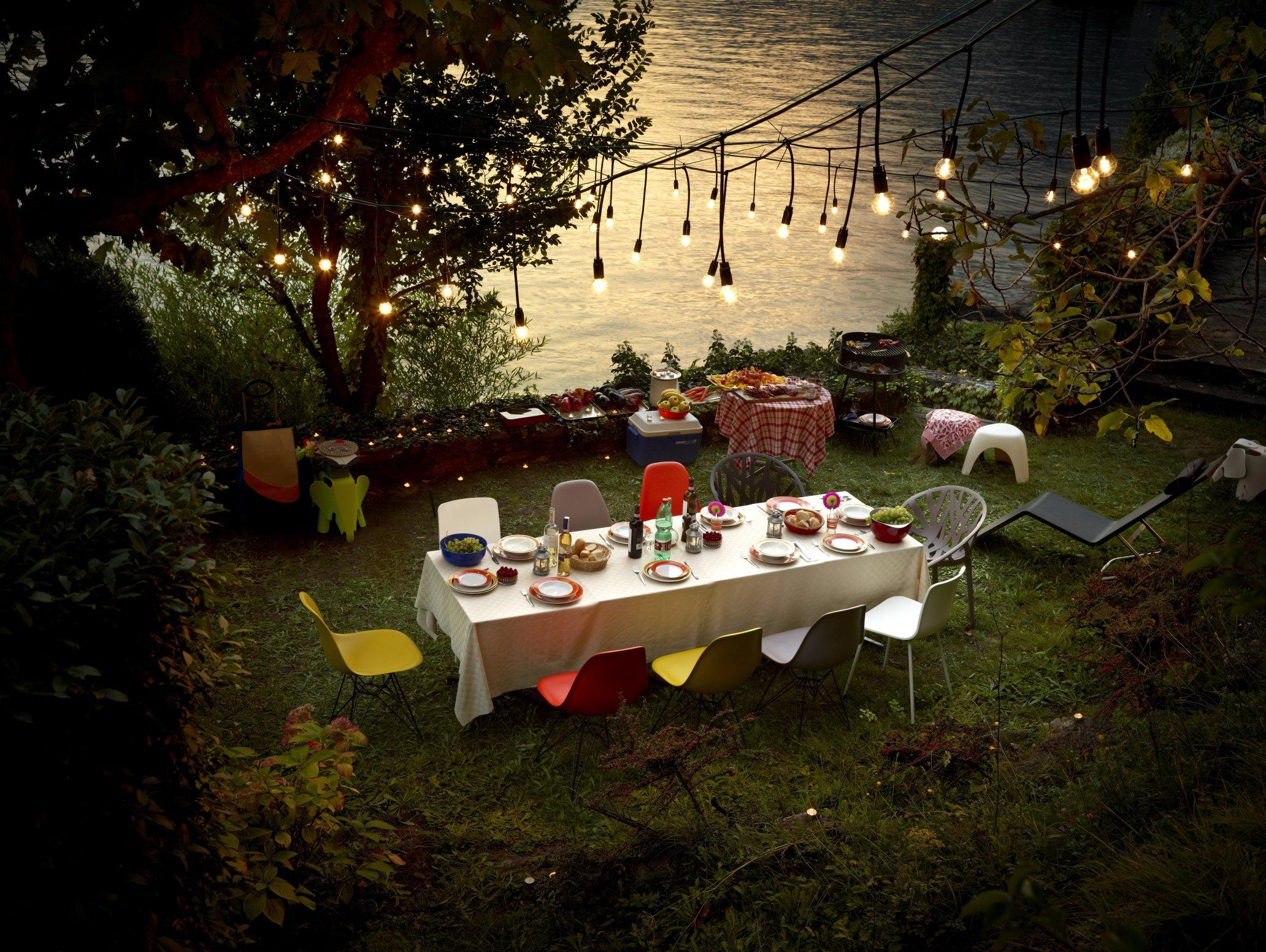 Lichtplanung Zuhause Garten Outdoor