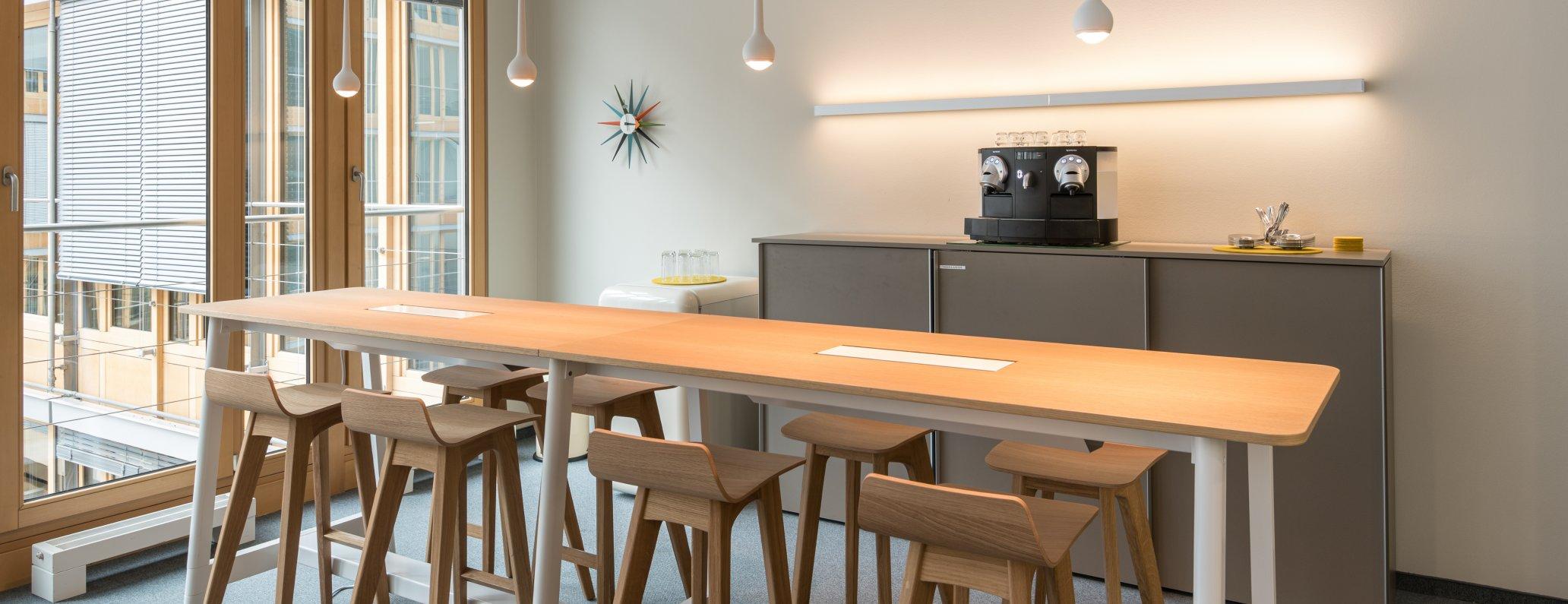 Kommunikationsbereich mit Kaffeestation BDA, Berlin