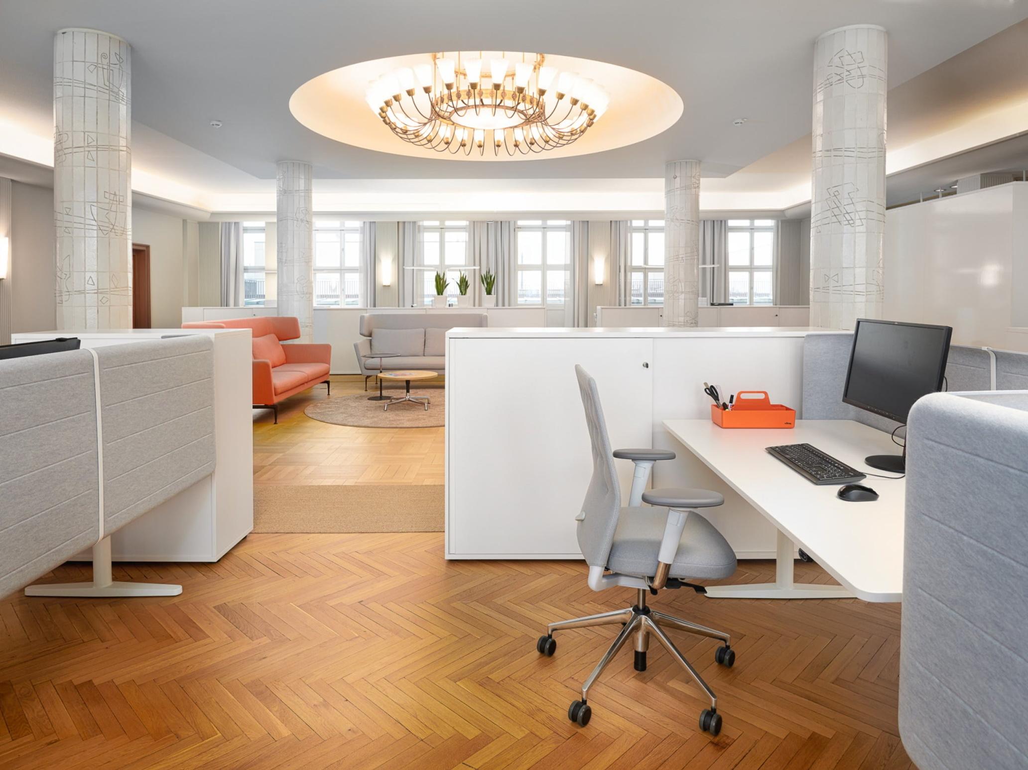 Zentrale des deutschen Handwerks - Umgestaltung der Büroräume