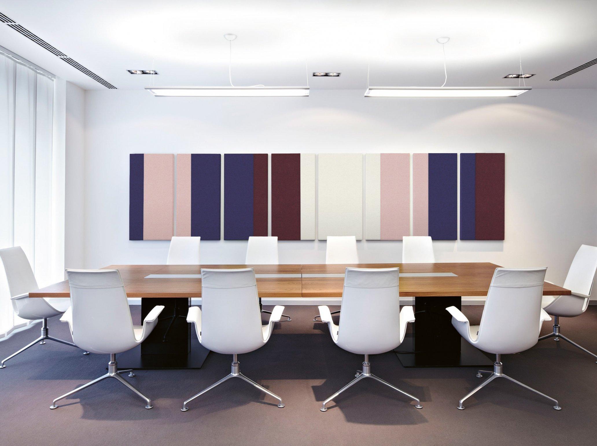 Optimale Akustik im Büro Konferenzraum