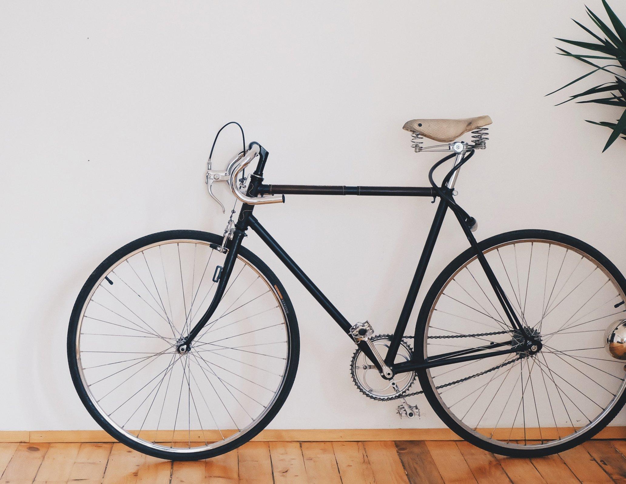 Nachhaltiges Büro Fahrrad