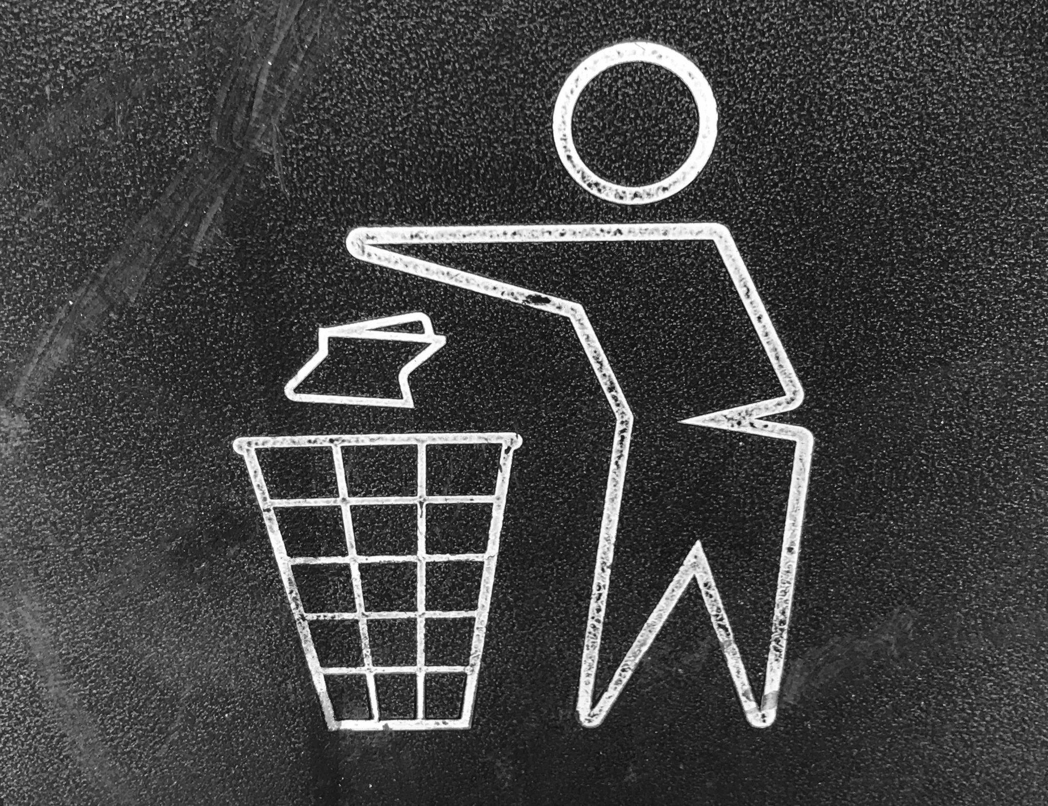 Nachhaltiges Büro Mülltrennung
