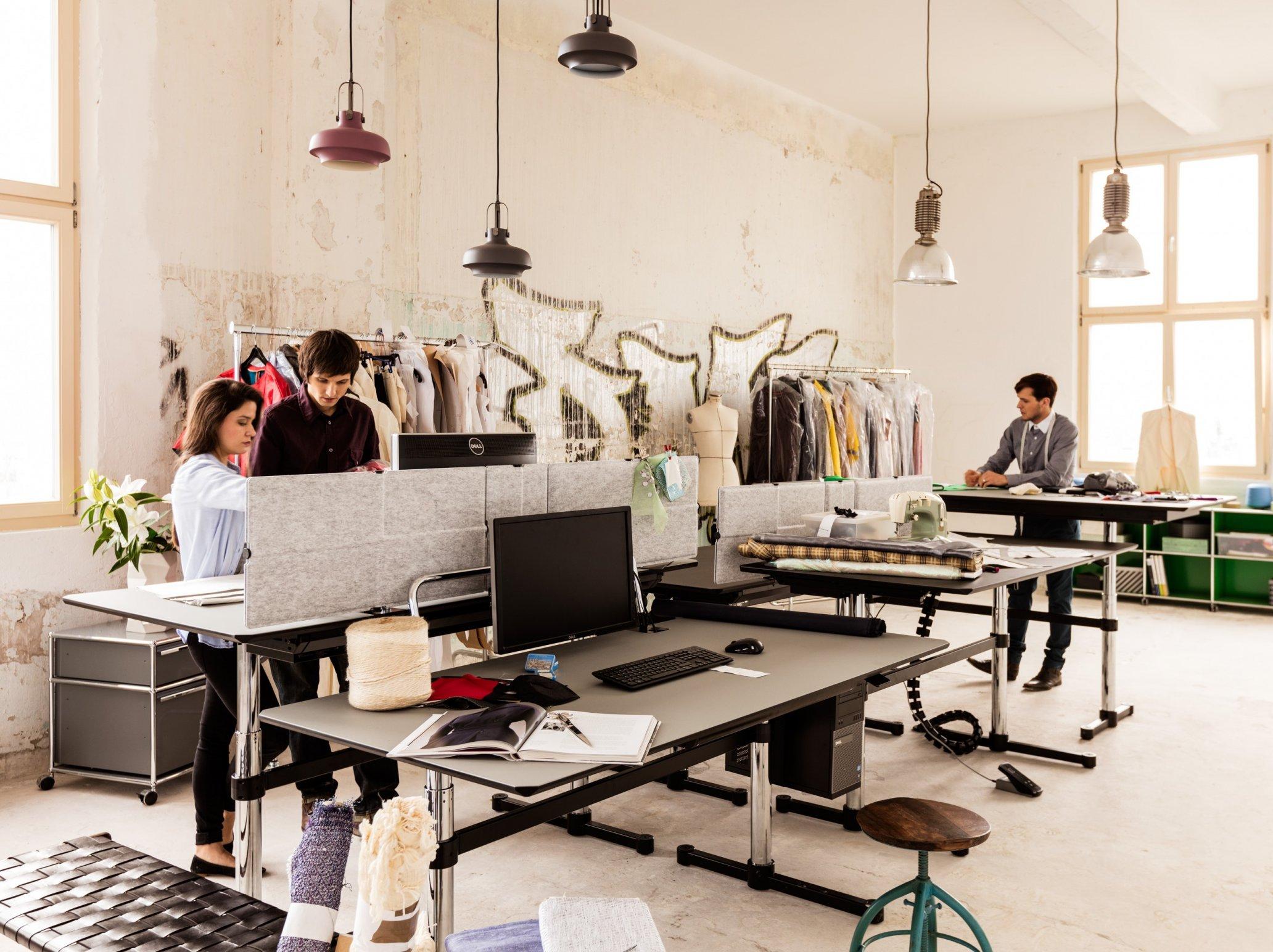 Höhenverstellbare Schreibtische Atelier