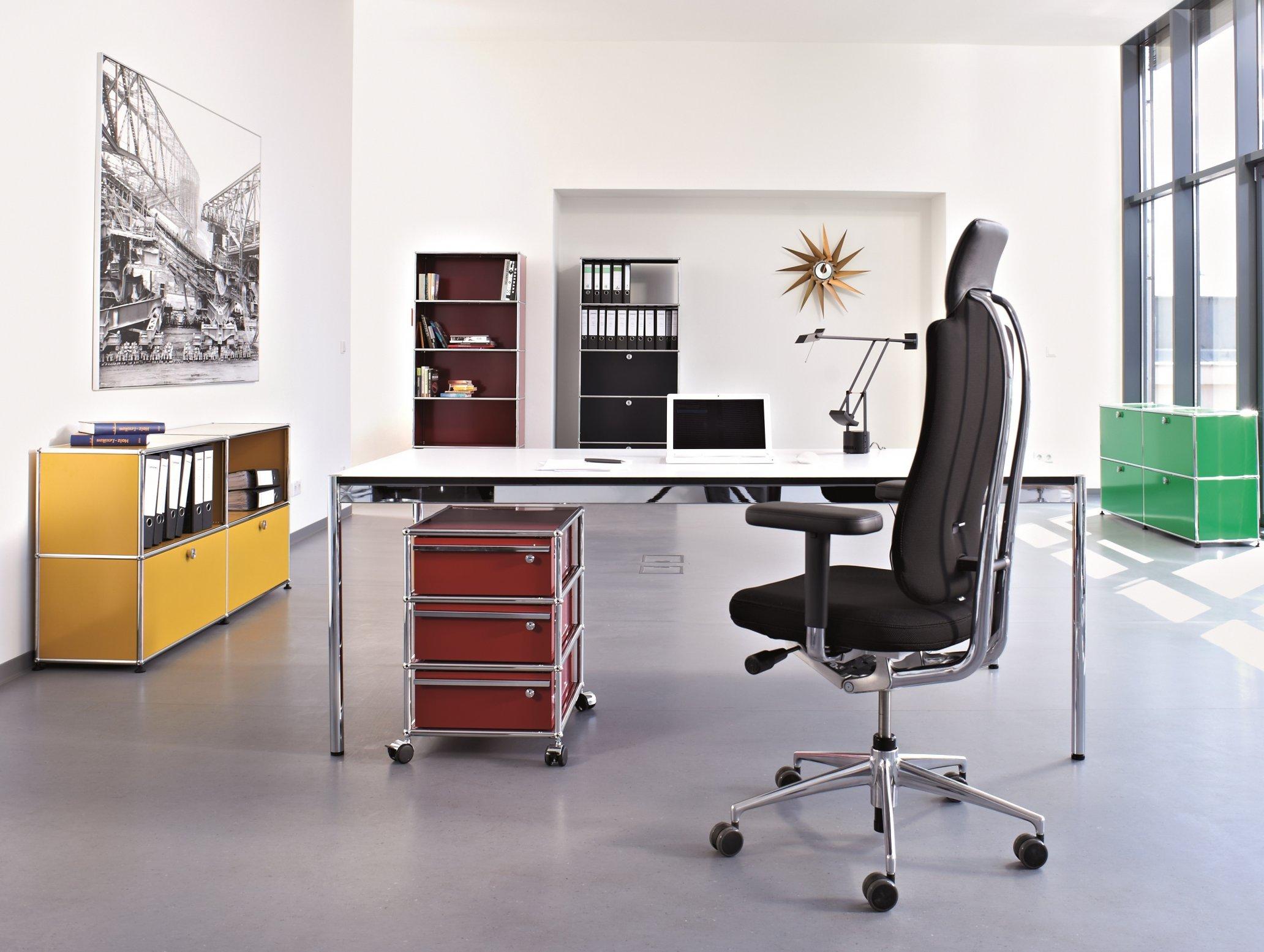 Büroeinrichtung USM Haller Rollcontainer