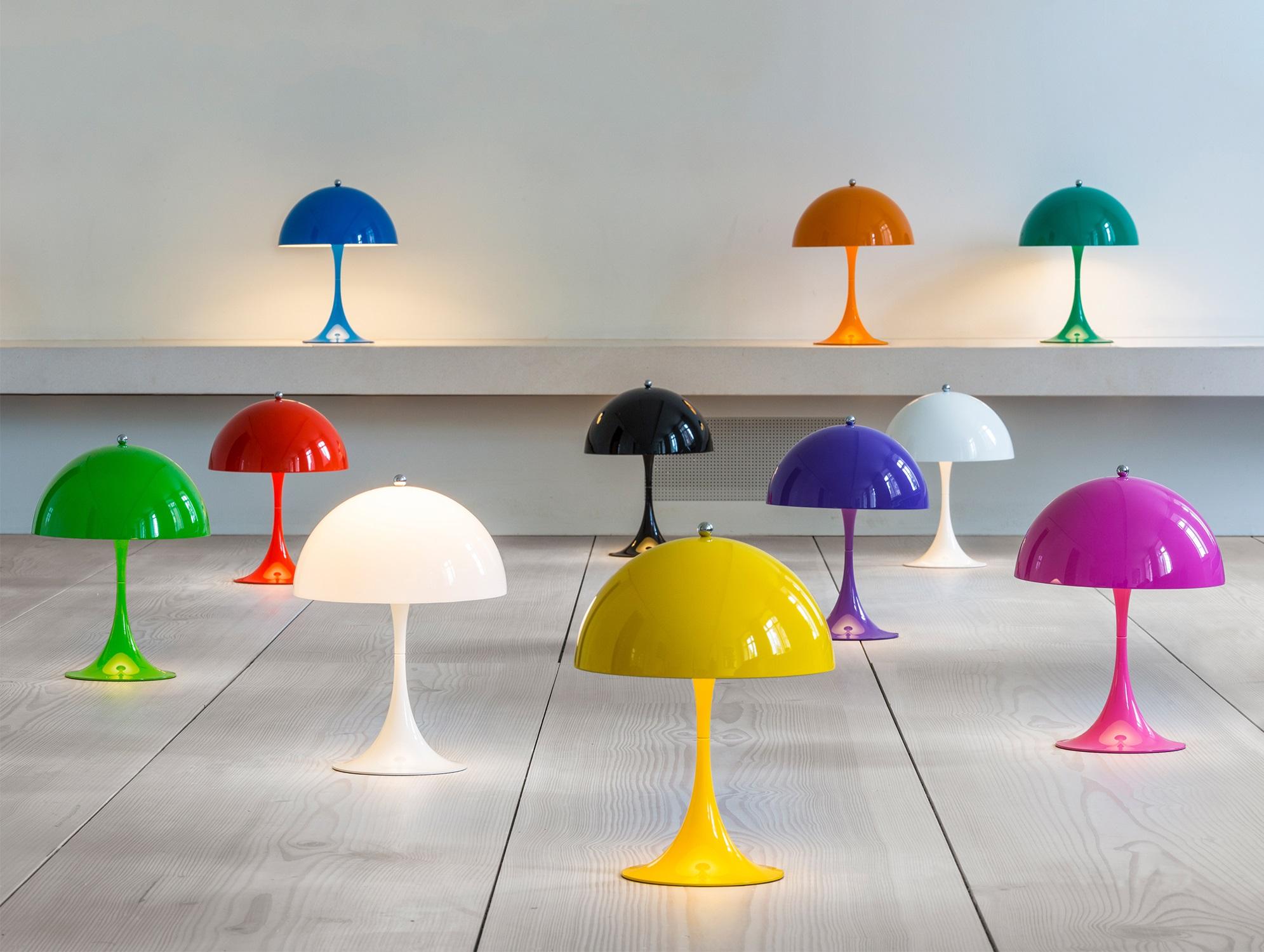 Das perfekte Farbkonzept Louis Poulsen Panthella Mini