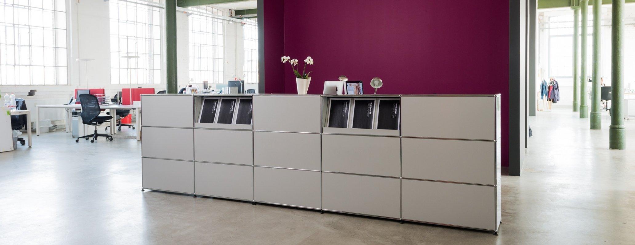 Farben und Materialien Referenzprojekt Markenrat Leipzig