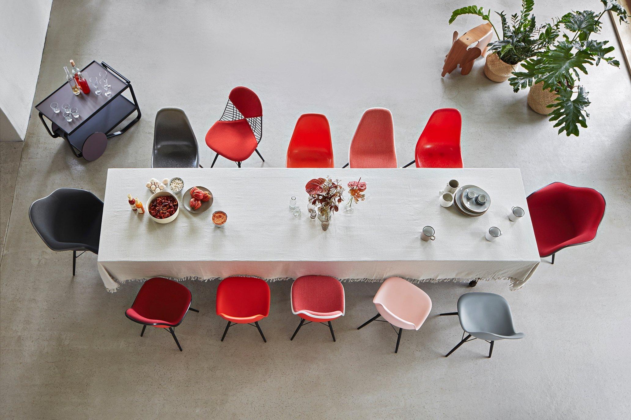 Eames Shell Chair Farbwelten