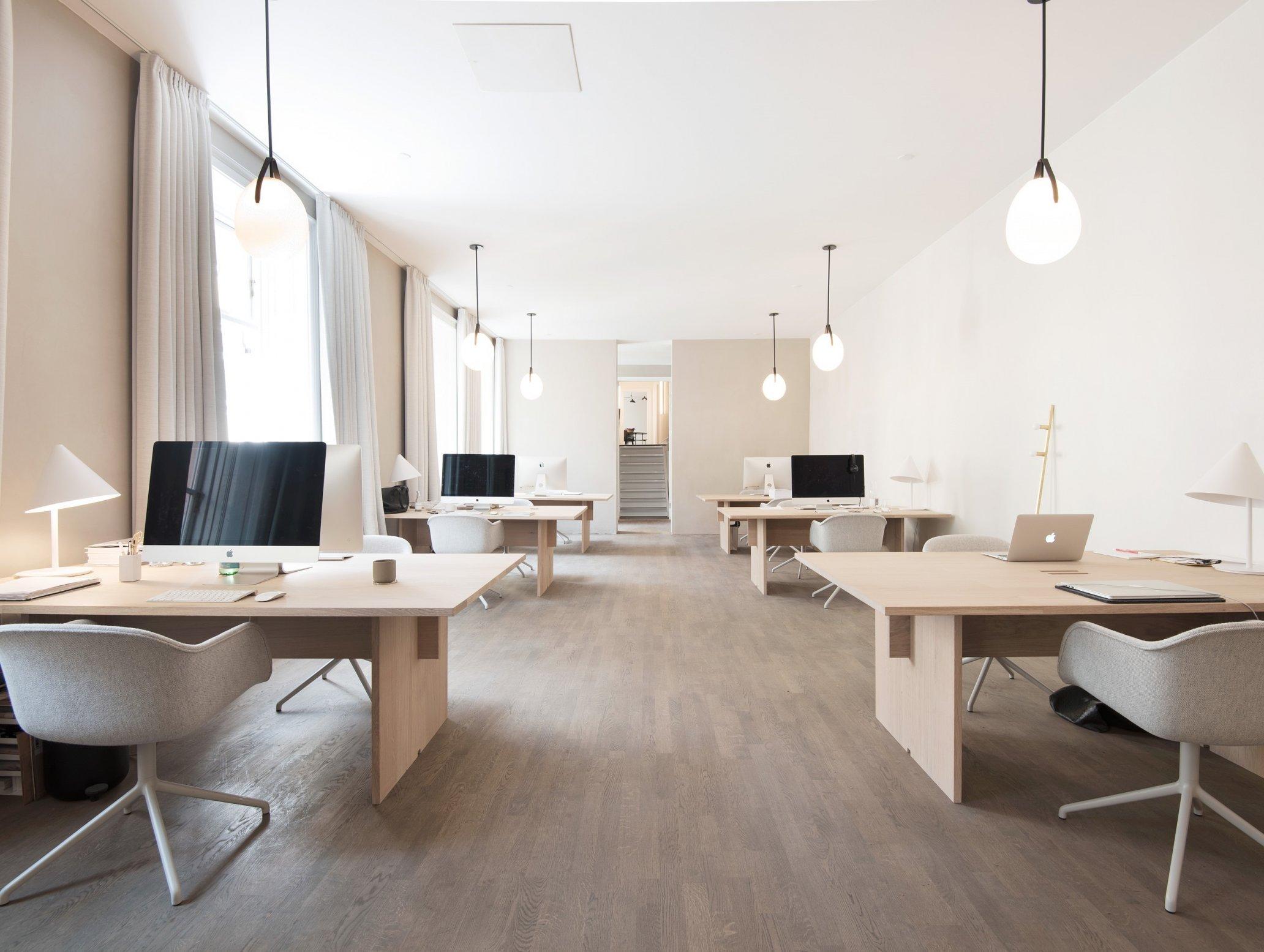 Lichtplanung Arbeitsplatz Büro Muuto