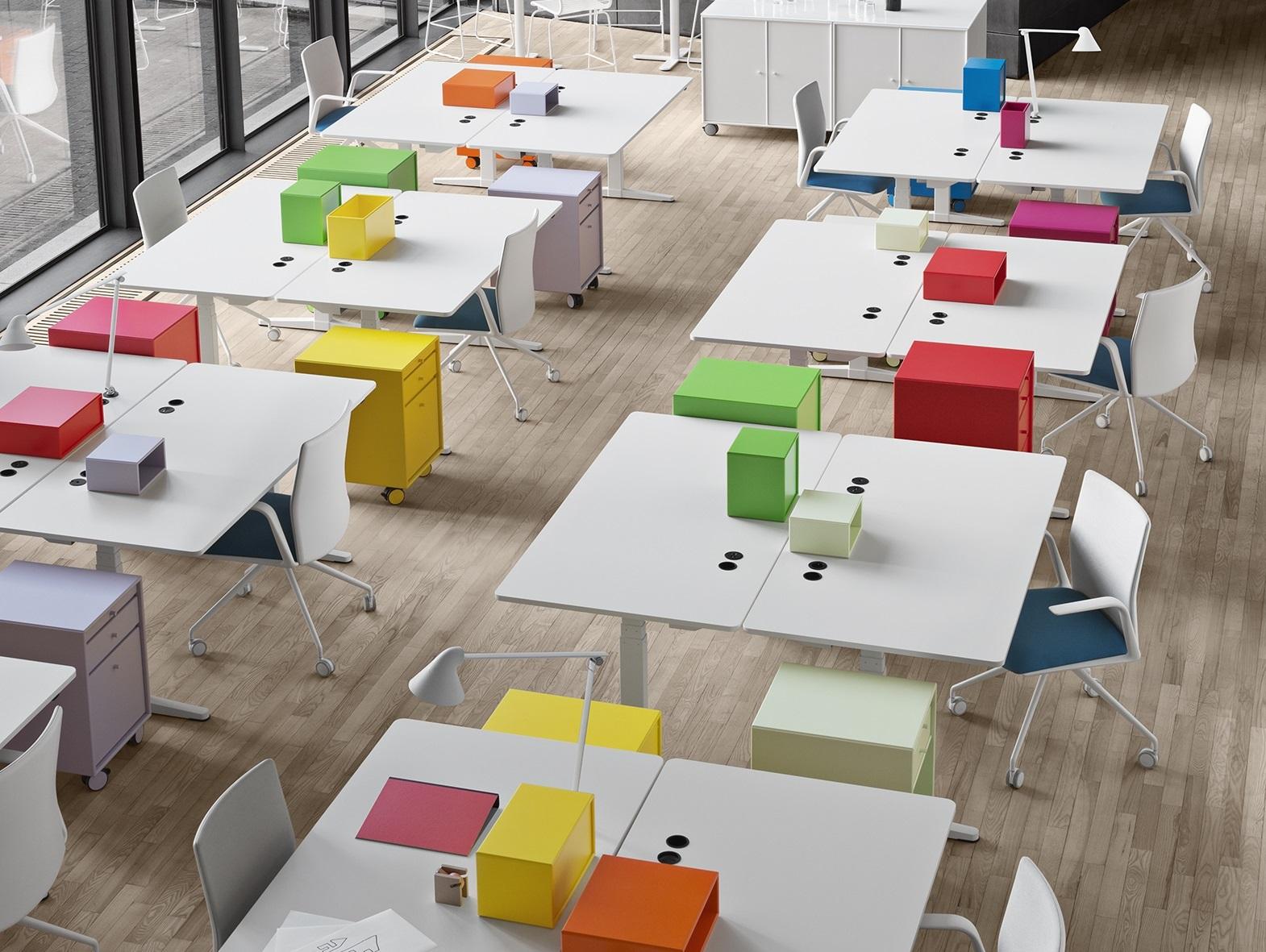 Moderne Büros Desksharing
