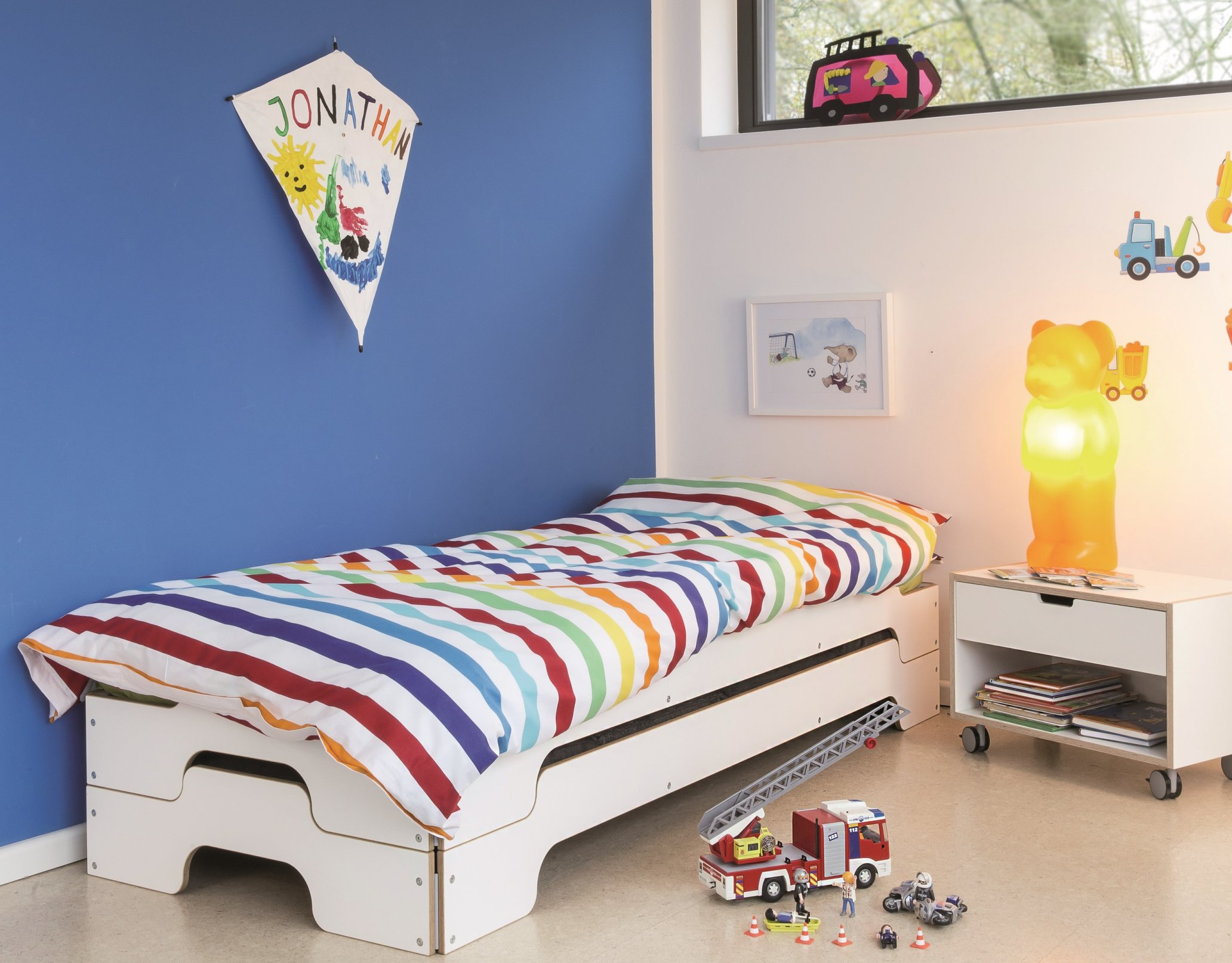 Kinderzimmer Stapelliege