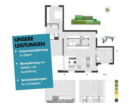 Planungsskizze Einrichtungsplanung