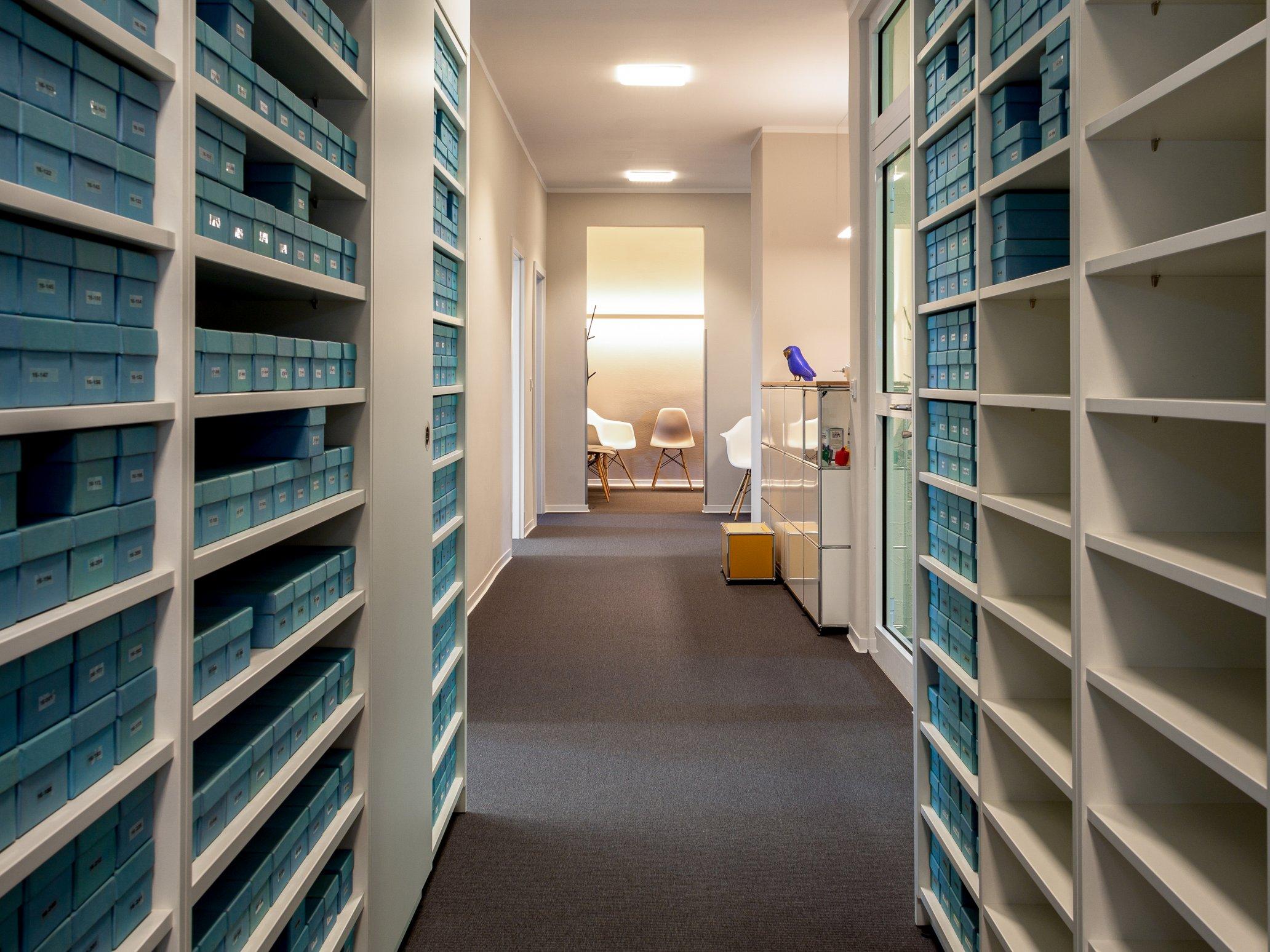 Eingangsbereich Arztpraxis