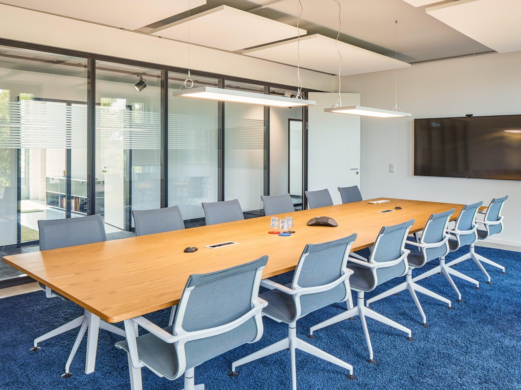Grandcentrix Köln Büro mit Besprechungsbereich