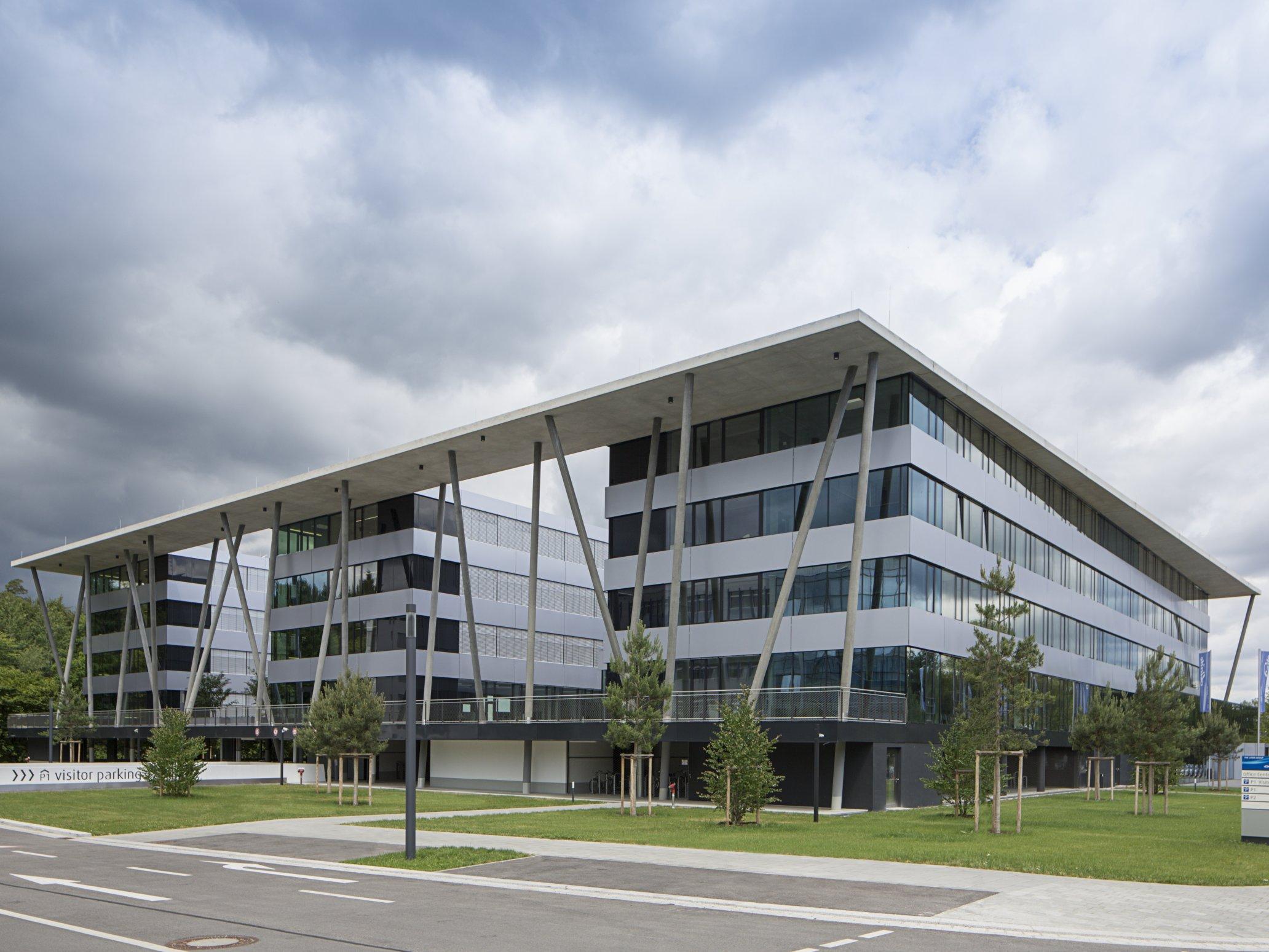 Linde München Gebäude