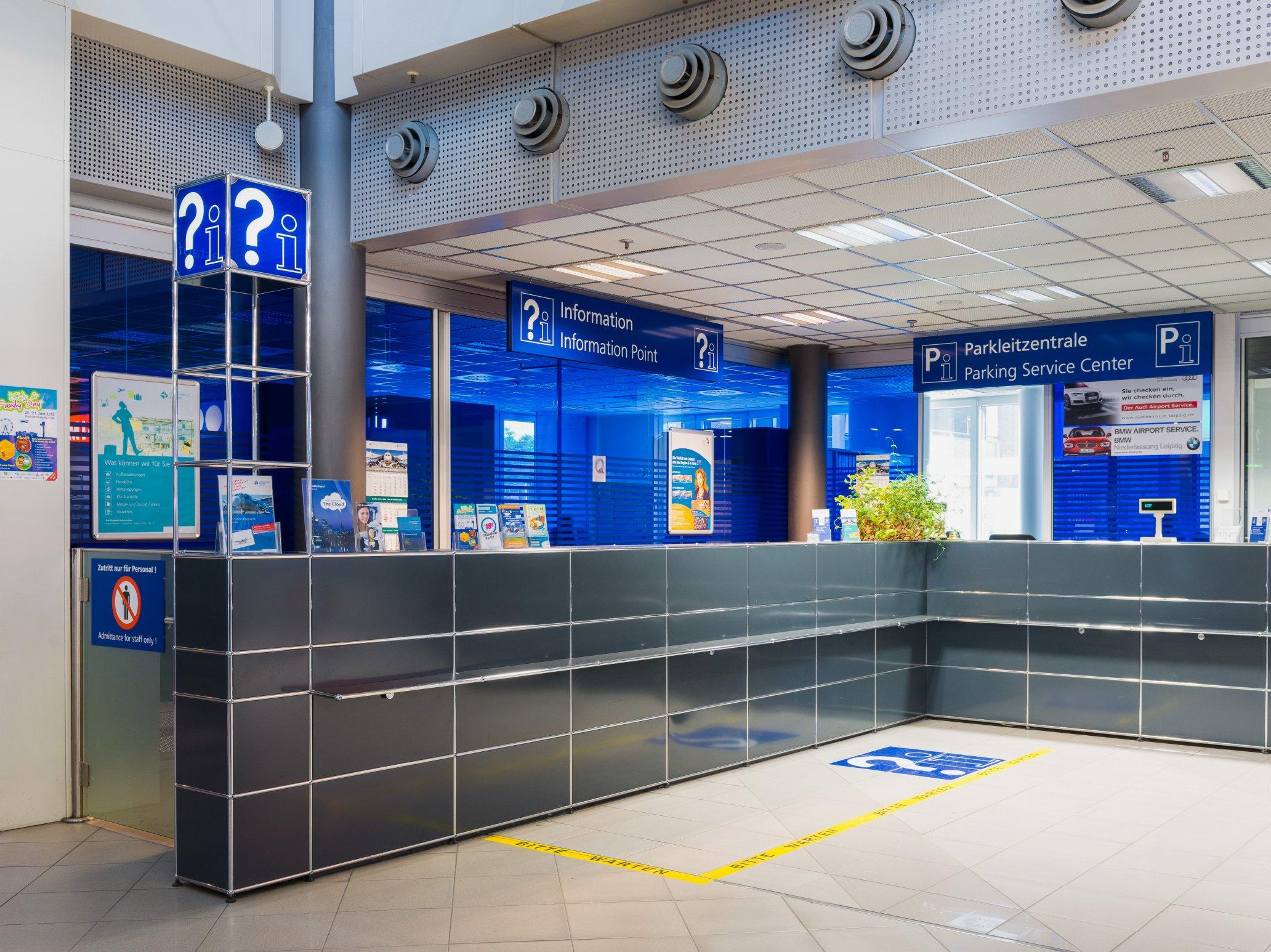 USM Airport Halle-Leipzig Infotheke
