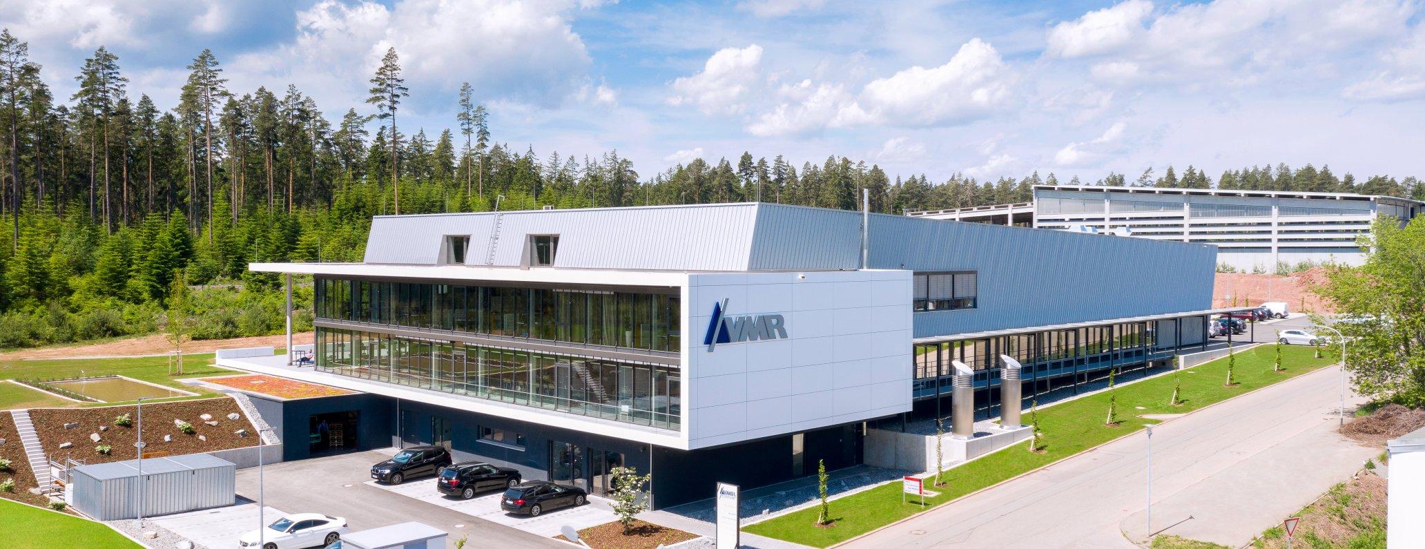 Außenansicht Firmensitz VMR, Mönchweiler