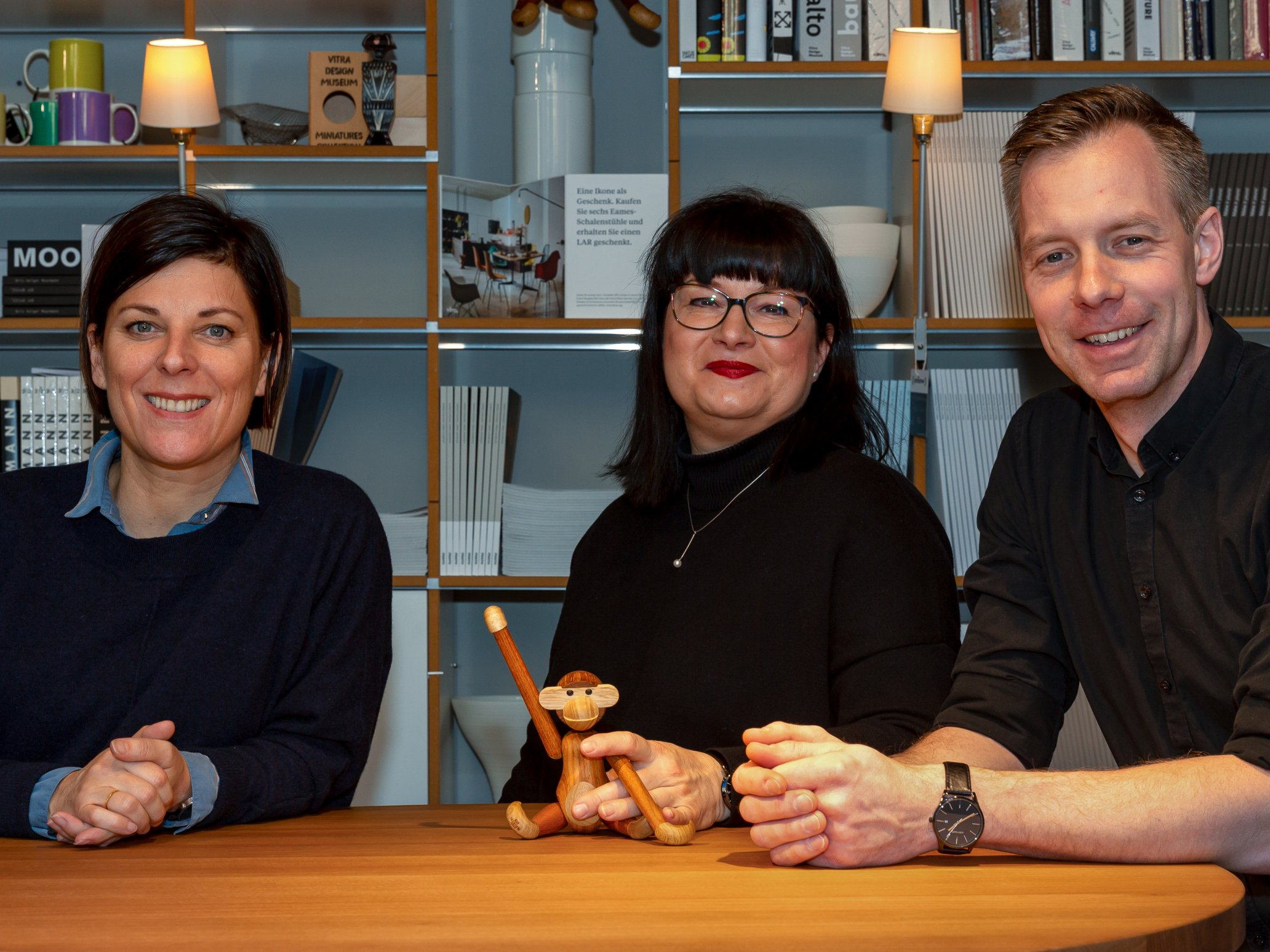 Das Team des Chemnitzer smow Stores