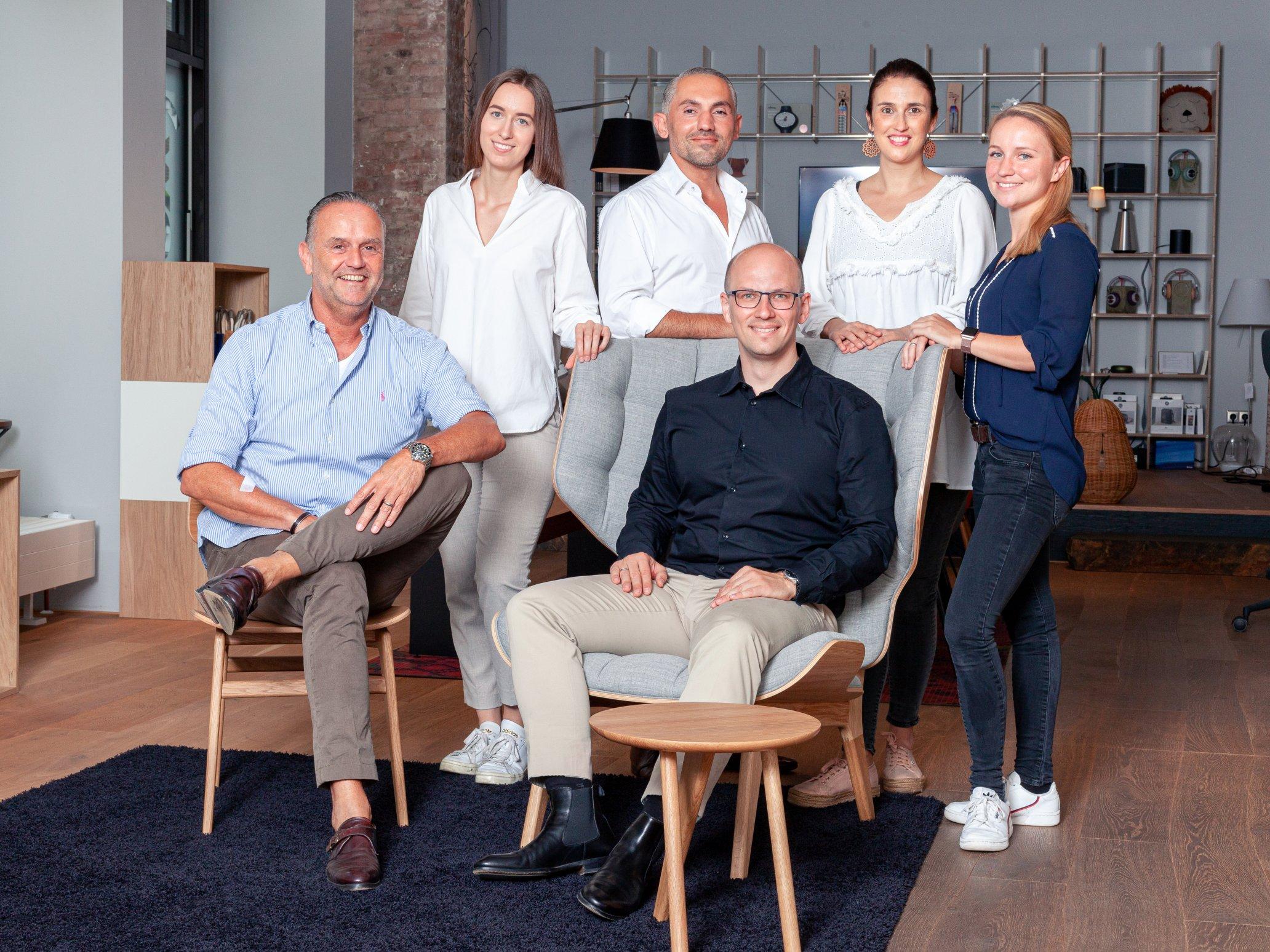 Das Team des Düsseldorfer smow Stores