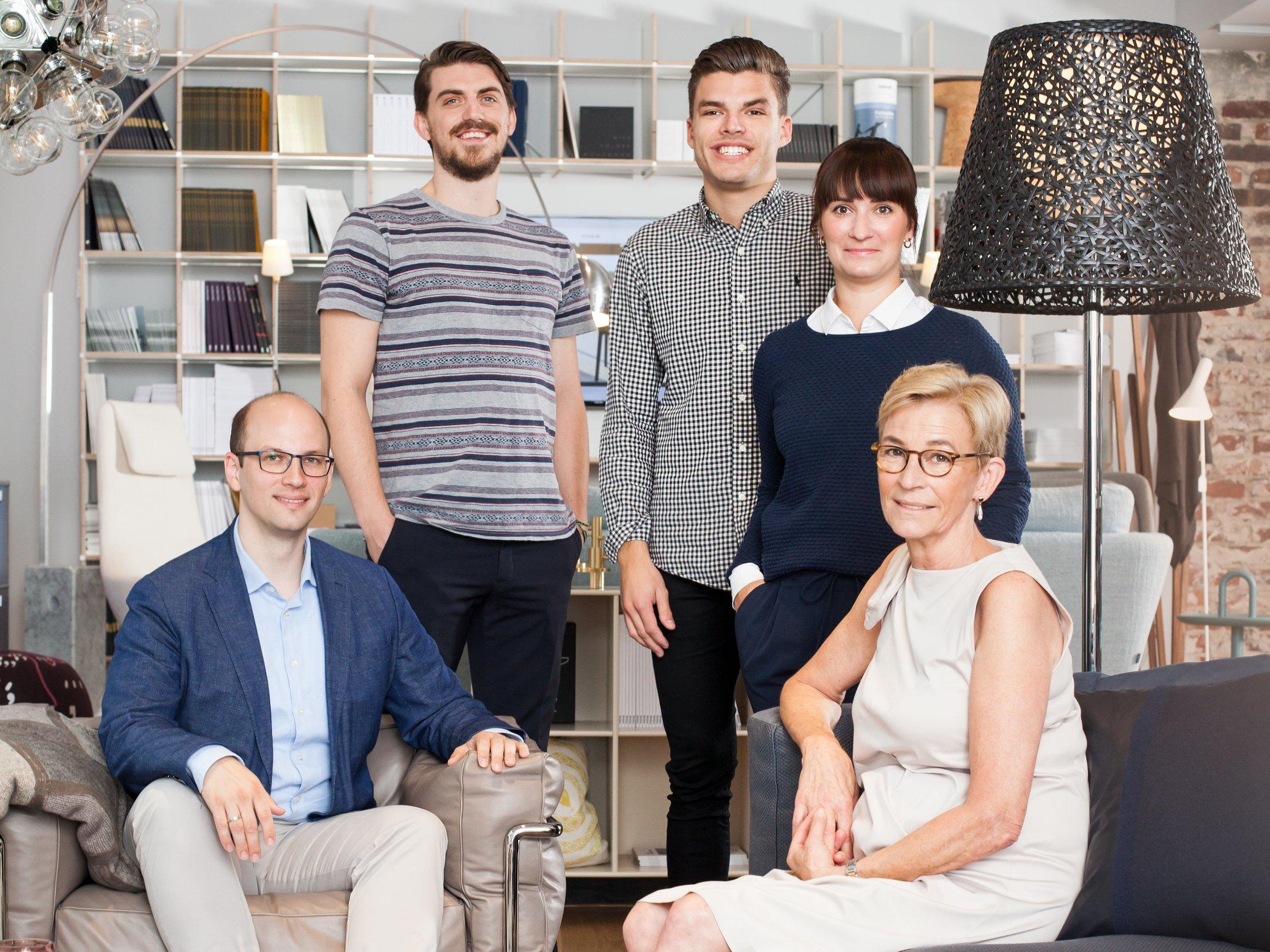 Das Team des Düsseldorfer smow Showrooms