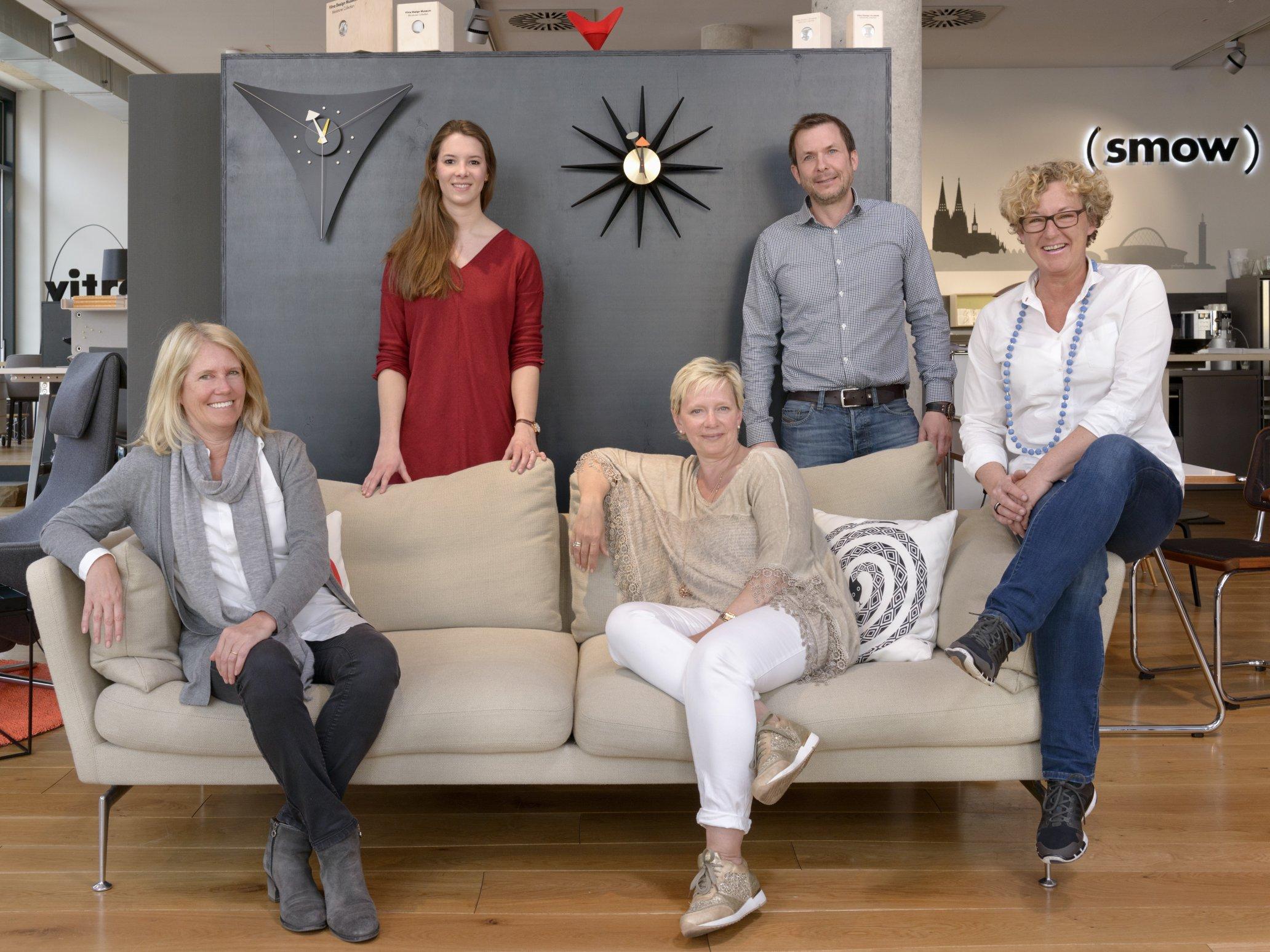 Das Team des Kölner smow Stores