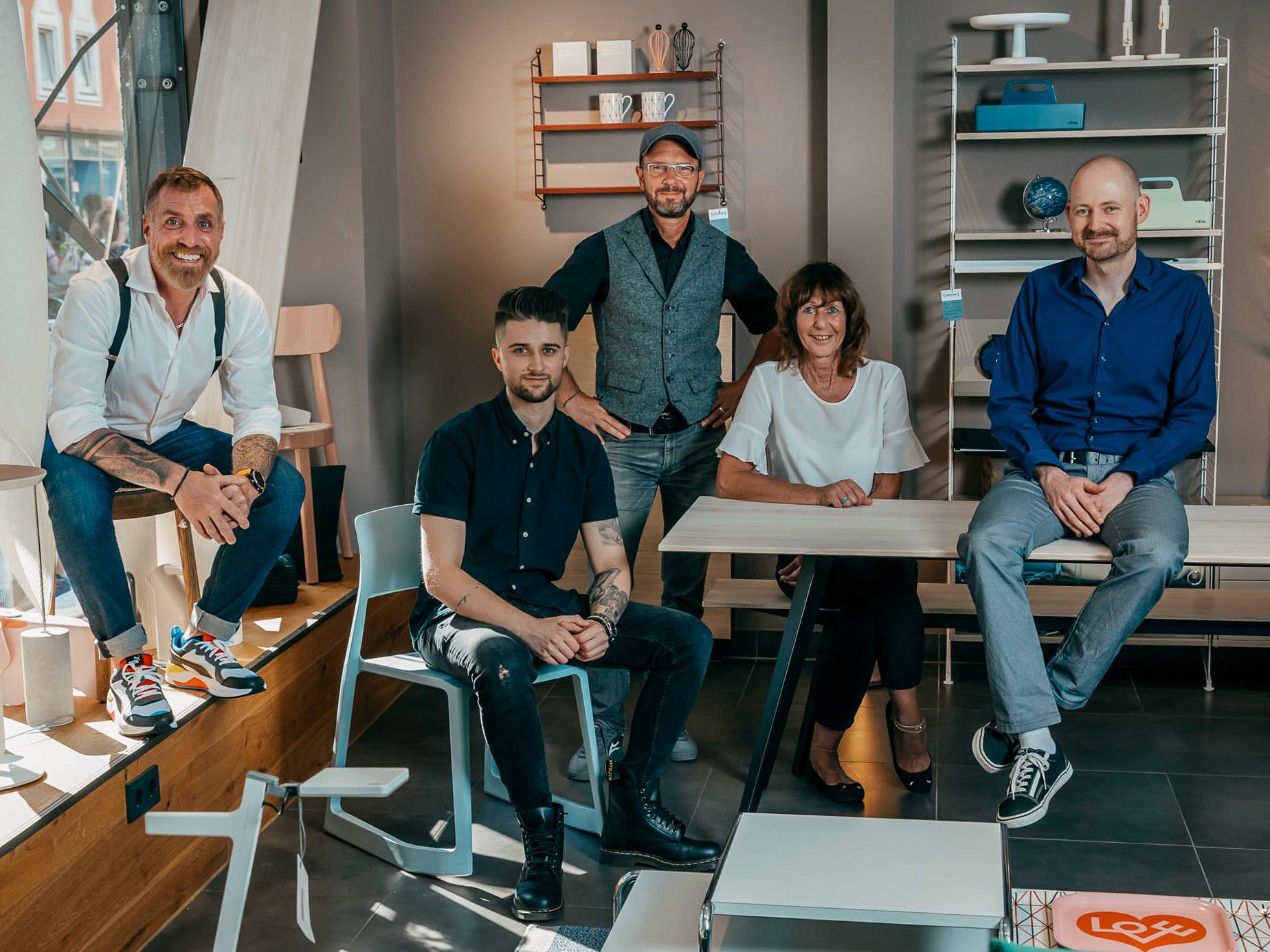 Das Team des smow Stores in München