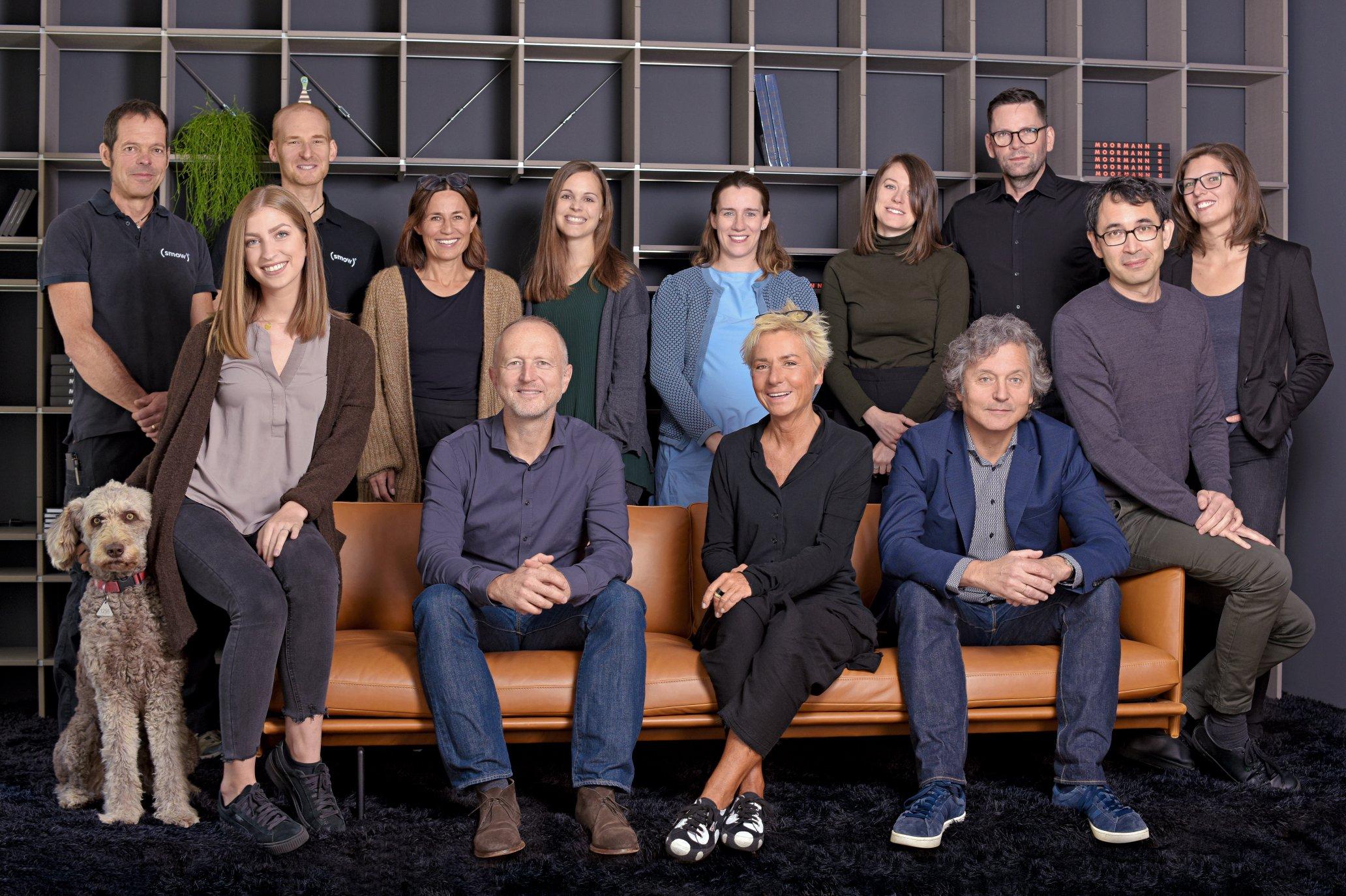Das Team des Stuttgarter smow Stores