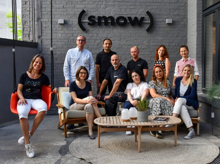 Das Team des smow Stores Frankfurt