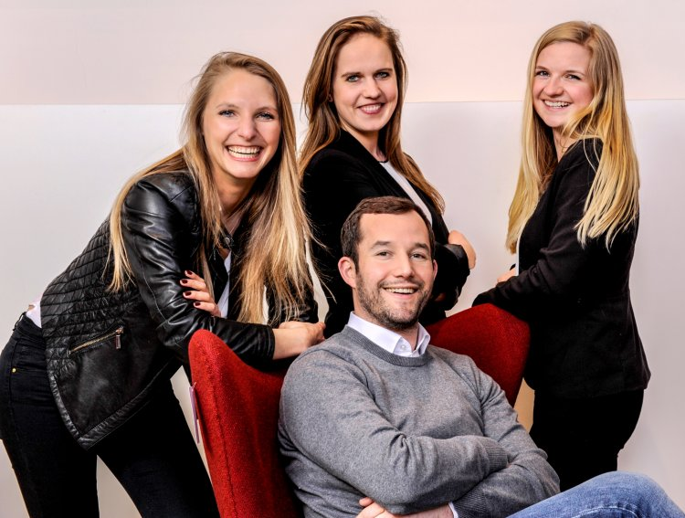 Das Team des smow Stores Hamburg