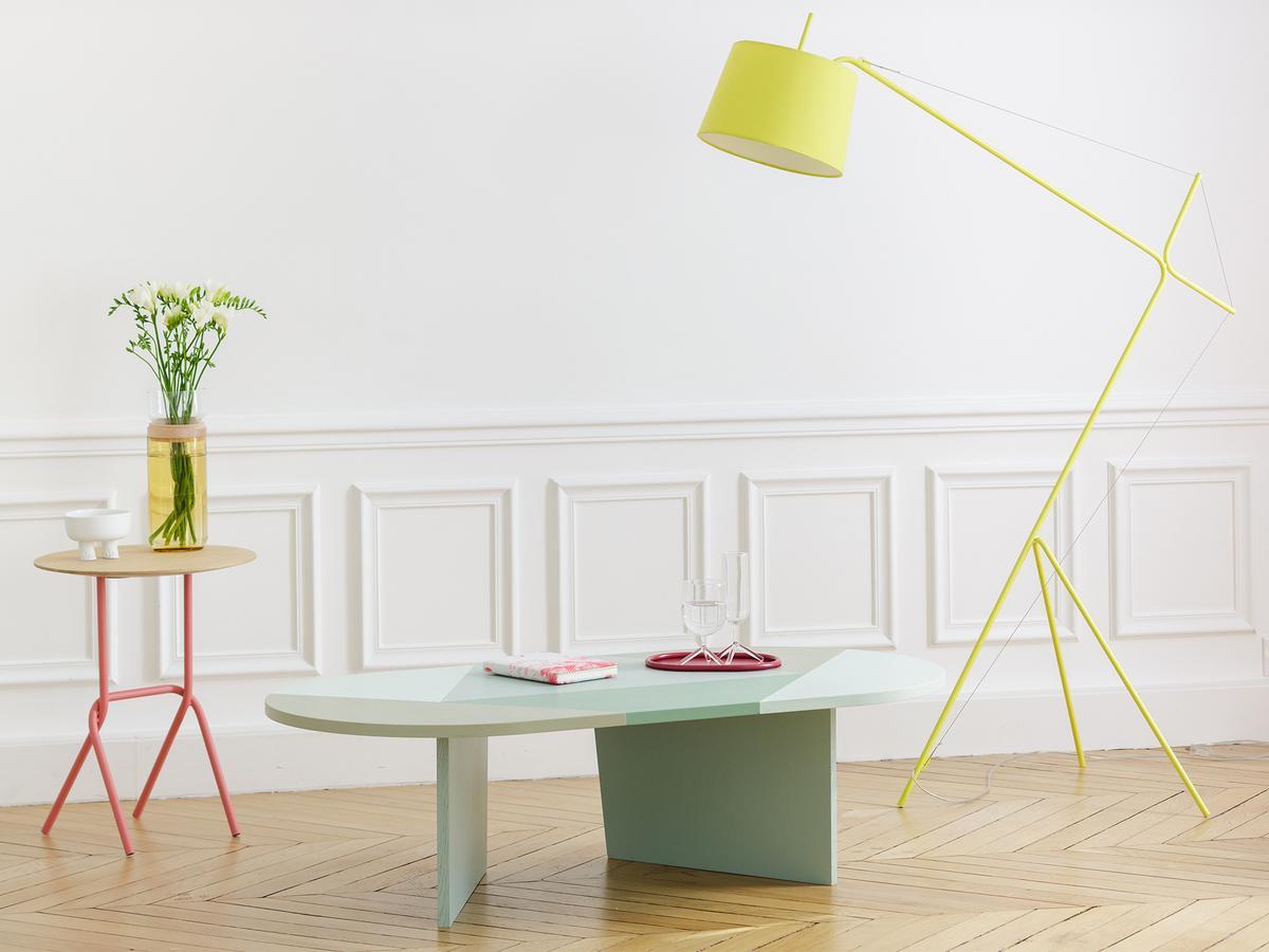 hart stehleuchte elisabeth von julien phedyaeff designerm bel von. Black Bedroom Furniture Sets. Home Design Ideas