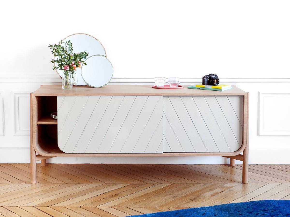 Sideboard designermöbel  Hartô Sideboard Marius , 155 cm, Eiche natur von Pierre-François ...