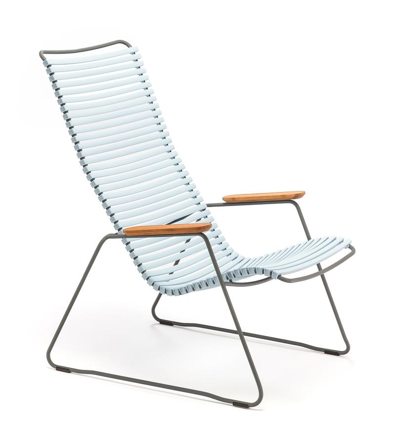 Houe Click Lounge Sessel, Dusty light blue von Henrik