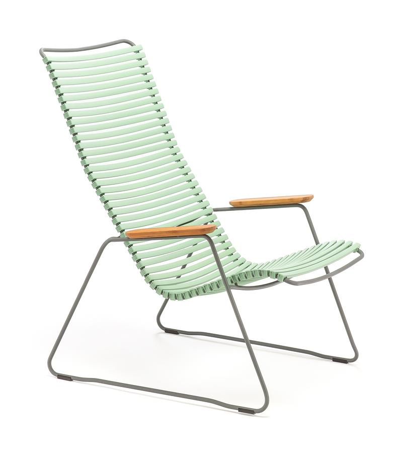 Houe Click Lounge Sessel, Dusty light green